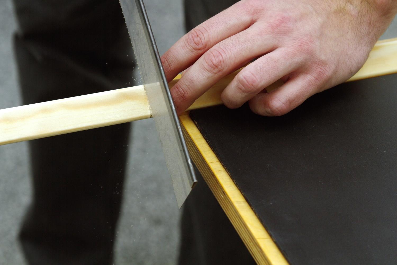Výroba klasické černé tabule bez šroubů  6a557329e8
